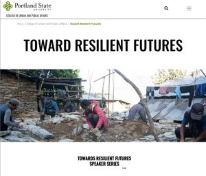 PSU lecture series on earthquake resiliency
